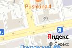 Схема проезда до компании Киоск по продаже цветов в Екатеринбурге