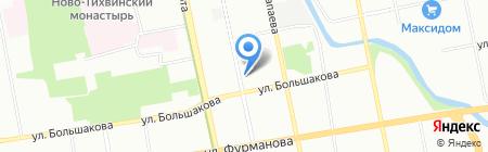 Планета хоккея на карте Екатеринбурга