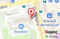 Схема проезда до компании Стройметаллгарант в Екатеринбурге