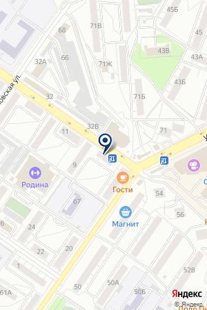 Аптека семейная на карте Екатеринбурга