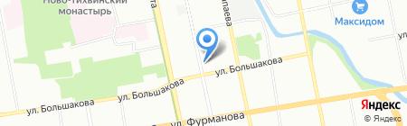 Grand-Auto на карте Екатеринбурга