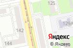 Схема проезда до компании Зеркальный в Екатеринбурге