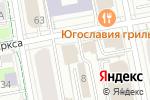 Схема проезда до компании СТ-СТРОЙ в Екатеринбурге