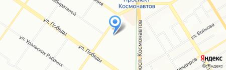Домовая кухня на карте Екатеринбурга