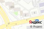 Схема проезда до компании Koreana в Екатеринбурге