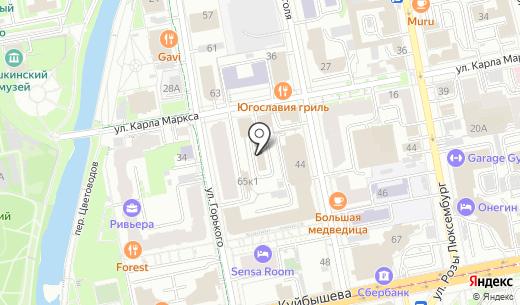 ВЭД-Софт. Схема проезда в Екатеринбурге