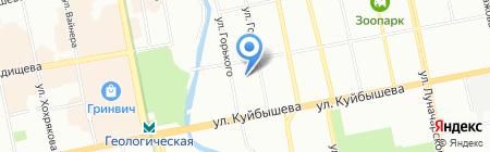 Текила-Тур на карте Екатеринбурга