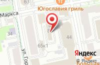 Схема проезда до компании Фаудд Люкс в Екатеринбурге