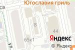 Схема проезда до компании Жасмин в Екатеринбурге