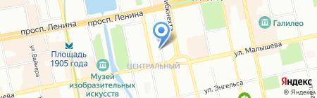 Сервис Инженерных Систем на карте Екатеринбурга