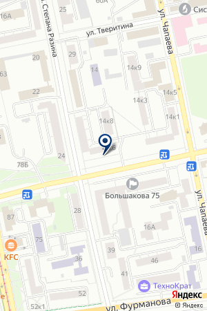 Позитив на карте Екатеринбурга