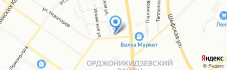 Почтовое отделение №98 на карте Екатеринбурга