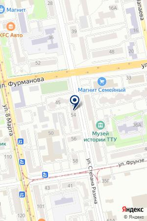 Мобилка на карте Екатеринбурга