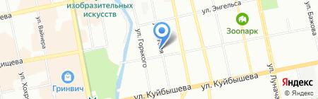 Статус-М на карте Екатеринбурга