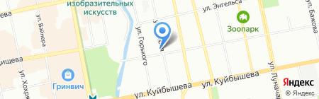 СФЕРА на карте Екатеринбурга