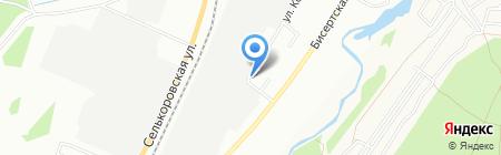 Автостиль на карте Екатеринбурга