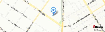 Карапузы на карте Екатеринбурга