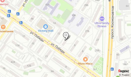 Карапузы. Схема проезда в Екатеринбурге