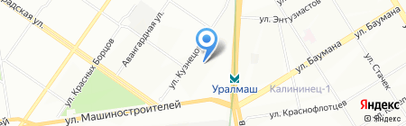 Детский сад №531 на карте Екатеринбурга