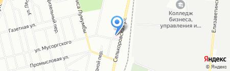 Поликлиника на карте Екатеринбурга