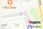 Схема проезда до компании Альфа сервис в Екатеринбурге