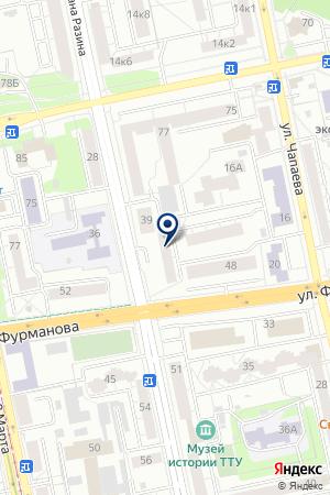 ВитаЕ на карте Екатеринбурга