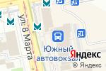 Схема проезда до компании Приятные цены в Екатеринбурге