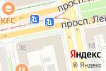 Схема проезда до компании Птица Счастья в Екатеринбурге