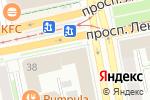 Схема проезда до компании Rodeo в Екатеринбурге