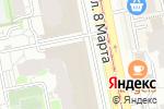 Схема проезда до компании ТАБЛЕТКА ПЛЮС в Екатеринбурге