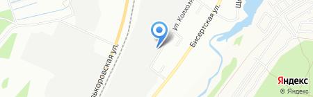 Регионпродукт на карте Екатеринбурга
