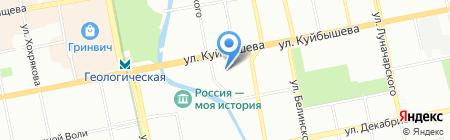 АКСИома на карте Екатеринбурга