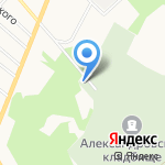 Верхнепышминское кладбище на карте Верхней Пышмы