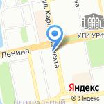 FLORANS на карте Екатеринбурга
