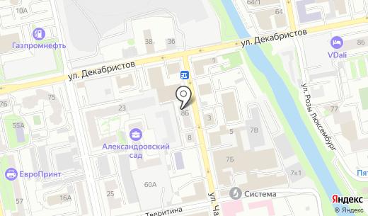 Батари. Схема проезда в Екатеринбурге