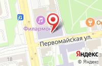 Схема проезда до компании Пятерочка в Нижних Вязовых