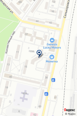Камелот на карте Екатеринбурга