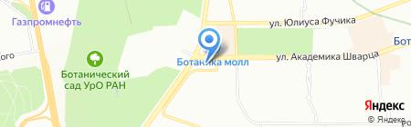 Проф-мастер на карте Екатеринбурга