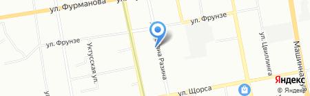 Народная Сберегательная касса на карте Екатеринбурга