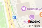 Схема проезда до компании ParkBravo в Екатеринбурге