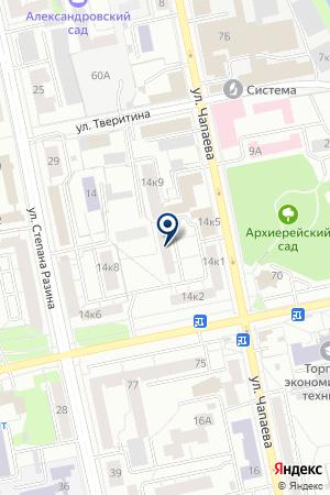 Форма на карте Екатеринбурга
