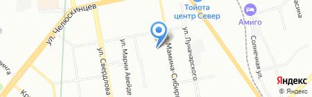 Детский сад №146 на карте Екатеринбурга