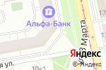 Схема проезда до компании Органо Голд в Екатеринбурге
