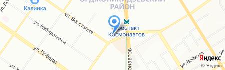 Салон оптики на карте Екатеринбурга
