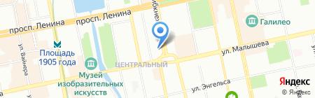 ПерепланировкаПросто.ру на карте Екатеринбурга