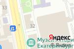 Схема проезда до компании ВДО-Урал в Екатеринбурге