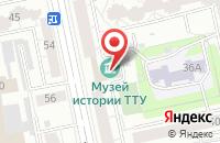 Схема проезда до компании Приоритет в Екатеринбурге