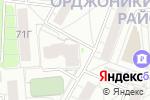 Схема проезда до компании Трест Уралмашстрой в Екатеринбурге