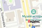 Схема проезда до компании Черметинвест-Т в Екатеринбурге
