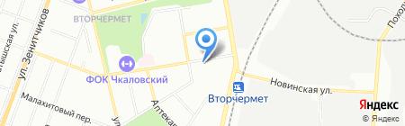 Уральский садовод на карте Екатеринбурга